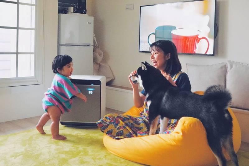 完美清潔居家環境神器.優格姊姊與日日·甜甜的科技體驗