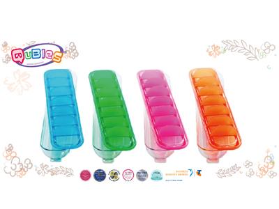 訂閱媽媽寶寶雜誌6期+【Qubies】食物冷凍分裝盒2個