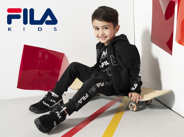 【FILA Kids】兒童機能運動鞋(內含足弓支撐鞋墊)-0