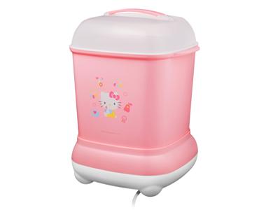 訂閱媽媽寶寶雜誌12期+【Combi】Pro高效消毒烘乾鍋 Hello Kitty版