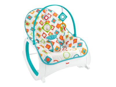 訂閱媽媽寶寶雜誌12期+【奇哥】費雪嬰兒幼童安撫搖椅
