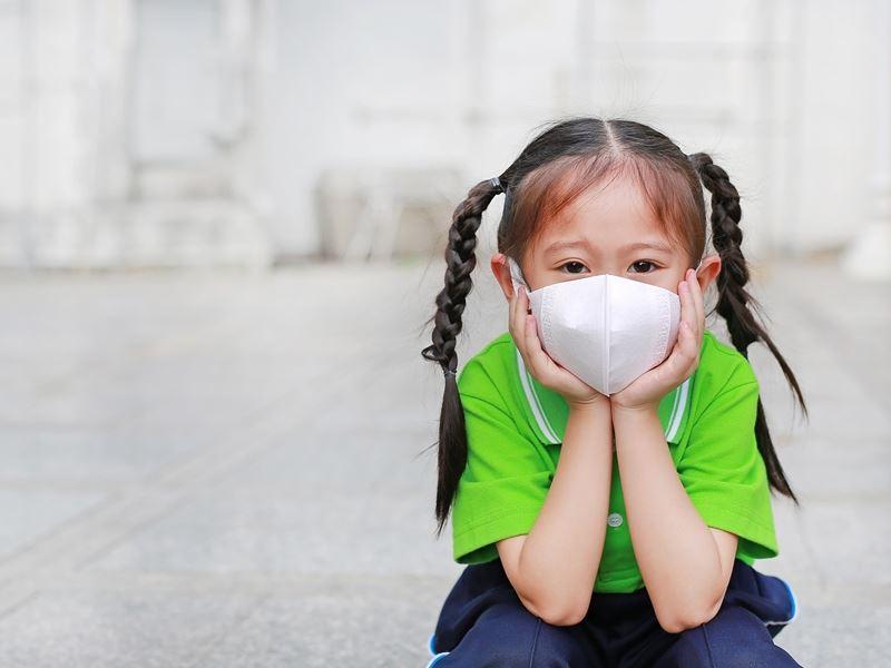 室內外氣溫差7°C易誘發氣喘!防疫期間,避免孩子氣喘發作4招防護要做好