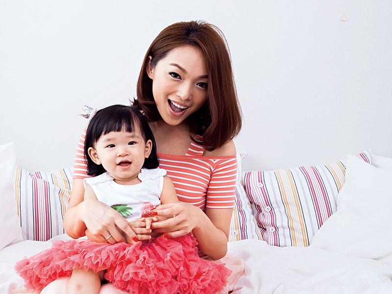 虞珮儀&蜜妞‧最時尚的親子芭比