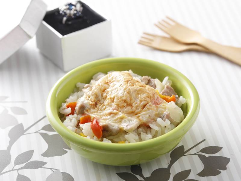 洋蔥豬肉燉飯(後期離乳副食品.10~12個月)-0