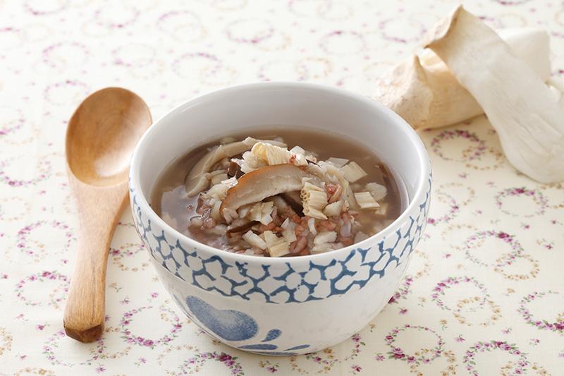 香菇豆皮粥